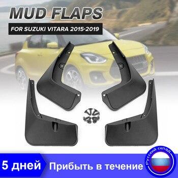 Car Mud Flaps For Suzuki Vitara\/Edcudo 2015 2016 2017 2018 2019 Mudguard Fender Splash Guard Mudflaps Accessories