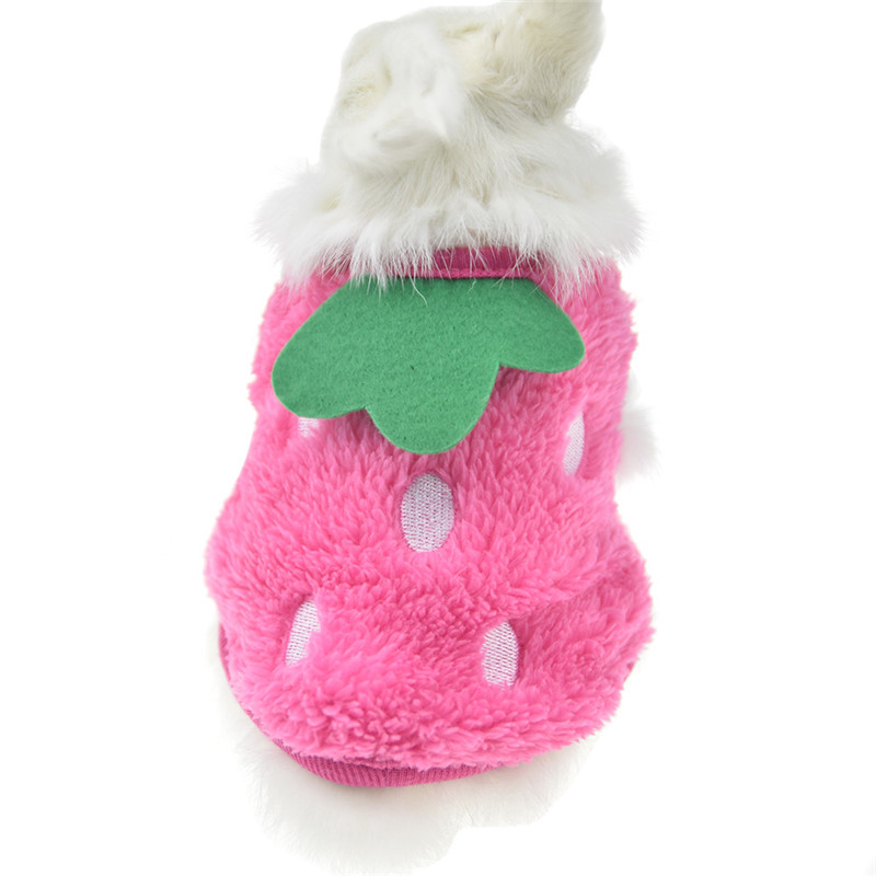 Winter Fleece Bunny Rabbit Guinea Pig Clothes For Mini Milk Dog Cat Teacup Small Animal Chinchilla Ferret Costume Vest Hoodie