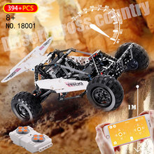 18001 NEW APP RC Desert Racing Car Remote Control Technic Off road Vehicle Model MOC Fit LepinBlocks Building Bricks kids toys motorized 20005 technic car series remote control vehicle rc truck model building blocks bricks compatible with 42043 kids toys