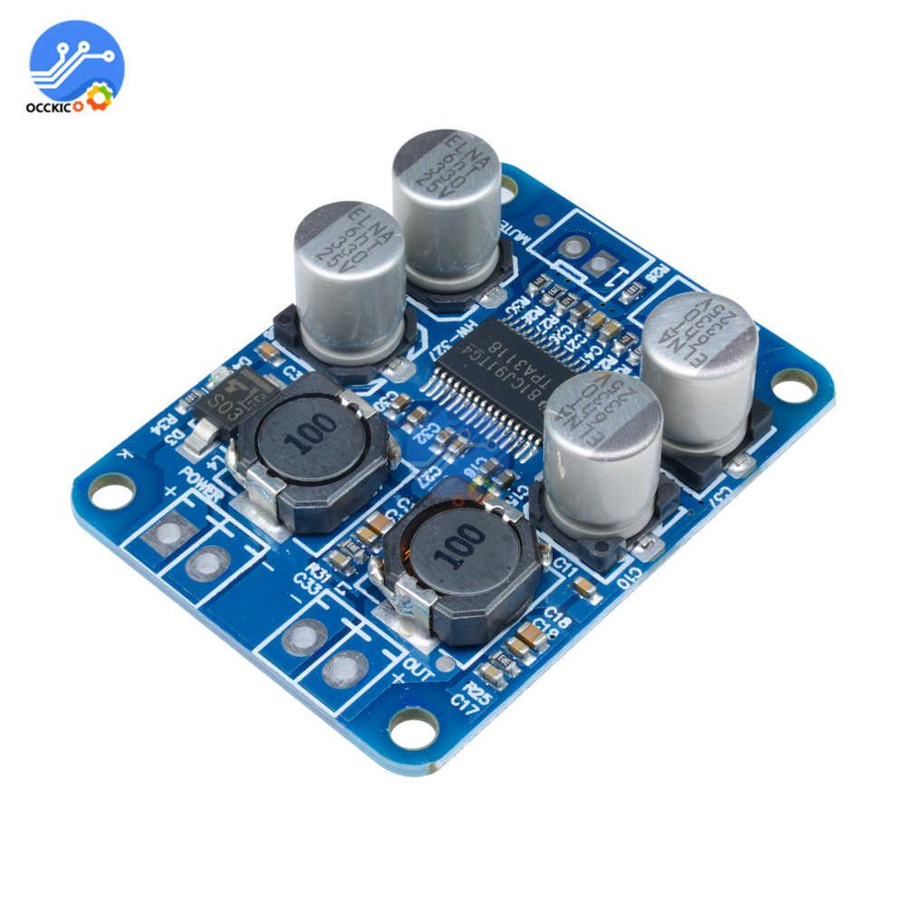 DC8-24V TPA3118 PBTL 60W Mono Digital Audio Amplifier Board AMP Module Chip 1X60W 4-8 Ohms Replace T