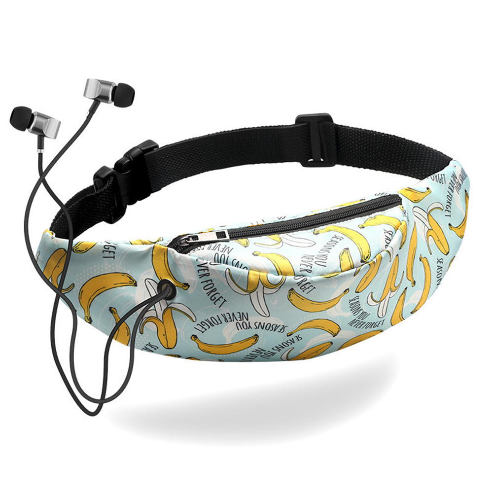 Waist Pack Fanny Belt Bag Waterproof Banana Sport Purse Men Women Colorful Travel Mobile Phone Heuptas Marsupia Donna Heuptasje