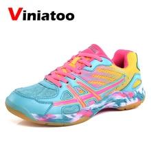 цена Men Women Badminton Shoes Lightweight Sport Shoes Professional Tennis Sneakers Size 36-45 Training Badminton Sneakers 2019 New онлайн в 2017 году