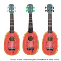 21 Ukelele 4 Strings Colorful Lovely Watermelon Basswood Stringed Musical Instrument