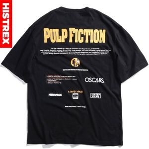 Image 1 - New Quentin Tarantino T Shirt Men Women Print 100 Cotton Japan Harajuku Hip Hop T Shirts Streetwear Tee Top tshirt Man