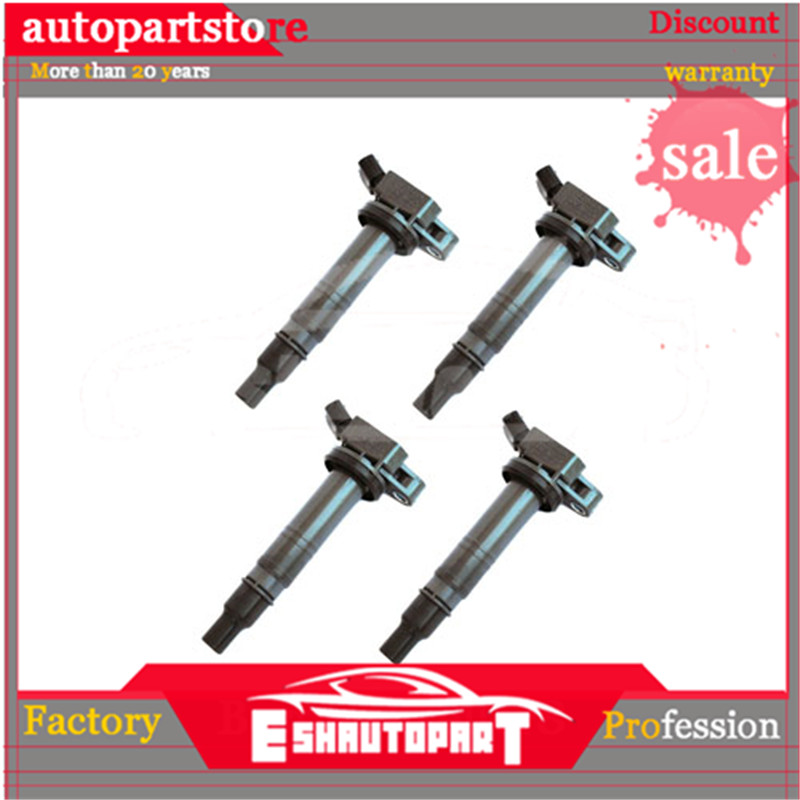 4x <font><b>90919</b></font> <font><b>02248</b></font> Ignition Coil for Toyota 4Runner Tundra Tacoma FJ Cruiser Lexus IS F <font><b>90919</b></font>-<font><b>02248</b></font> image