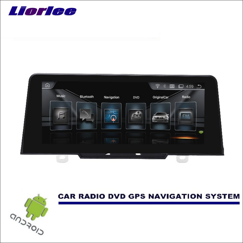 Liorlee Car <font><b>Android</b></font> Multimedia Display TV For <font><b>BMW</b></font> 1 Series <font><b>F20</b></font>/F21 2017 Car Radio Audio Video Player GPS Navigation System image