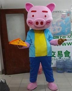 Image 4 - Cartoon Pig Mascot Costumes Adult Size Chef Pig Mascot Costume Cartoon Halloween Carnival Costume Advertising Parade Costumes