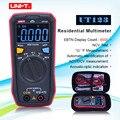 UNI-T Мини цифровой мультиметр-бытовой мультиметр UT123 EBTN цветной экран дисплей AC/DC напряжение тока температура/NCV тестер