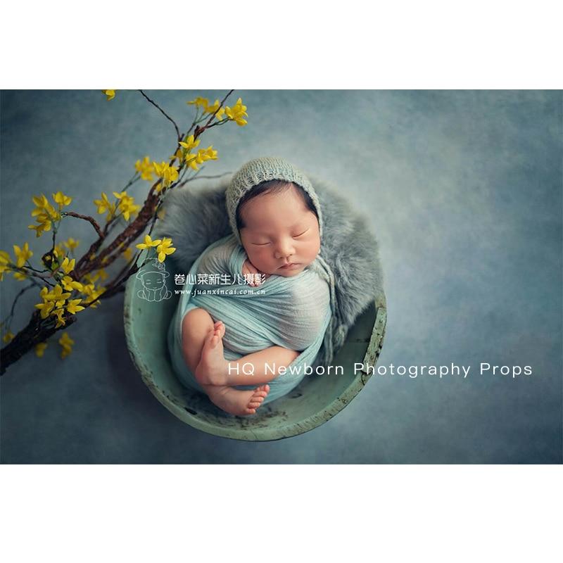 Newborn Photo Shooting Basket Children Baby Full Moon Photography Woven Baskets Hot