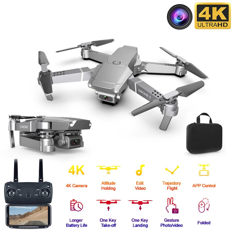 Best Drone HD Wide Angle 4K WIFI 1080P FPV Drones Video Live Recording Quadcopter Height To Maintain Drone Camera