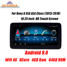 In Stock 8Core 4+64G 4G LTE Android 9.0 car dvd player for Mercedes Benz A CLA GLA CLass 2013-2018 Wifi Bluetooth Autoradio GPS 3000pcs cla 440 1 cla 440 2 self clinching nuts aluminum press in nuts pem standard factory wholesales in stock made in china