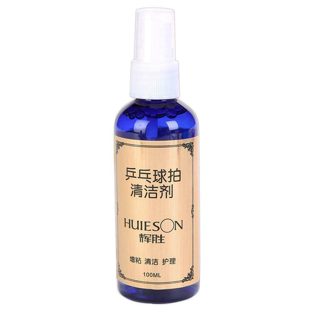 100ml Table Tennis Racket Effective Cleaning Agent Care Paddle Accessories Maintenance Liquid Blue Dust Remove Mildew Proof