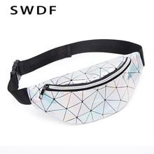SWDF Waist Bags Women Designer Fanny Pack Fashion Belt Purse Banana Packs Womens Bag Kidney Laser Chest Phone Pouch