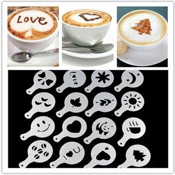 ציור בכוס קפה -  16 דוגמאות  ליצירת ציור על הקפה 3