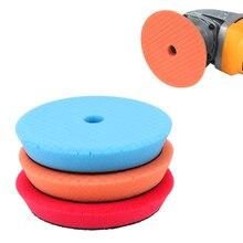 5 pçs/set Polimento Carro Kit 6 Polegada Car Polimento Sponge Pad Disco Abrasivo Almofadas De Espuma Esponja Ferramentas da Limpeza Do Carro