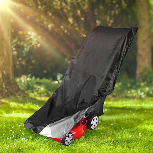 Waterproof Dust Rain Proof Outdoor Garden Sunscreen Lawn Mower Cover Dustproof Weeding Machine Cover Dust Cover Protection 3
