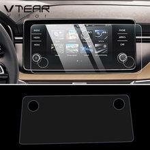 Vtear Für Skoda Schnelle Kamiq Scala Bolero Polo Navigation Display-schutzfolie Auto Gps Protector zubehör auto-styling 2020