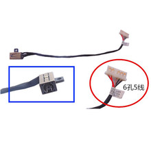 DC-IN DC Power Jack Cabo Para Dell Inspiron 3458 3459 3558 3568 3559 DC V3585 P51F