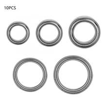 10 Pcs/set Steel Ball Single Column Bearing Deep Groove Double Shielded Bearing syncros speed