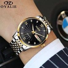 Часы наручные oyalie nh36 Мужские механические классические