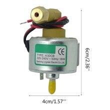 F2TE Small 18w 220v 40DCB Smoke Machine Oil Pump Steam Fogger Aspirator Water Spray Motor Parts for Fog Machines/snow Machine