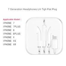 Для iphone наушники-вкладыши стерео с микрофоном проводной bluetooth для iphone 7 8 plus x xr xs max 11 11 pro Портативный