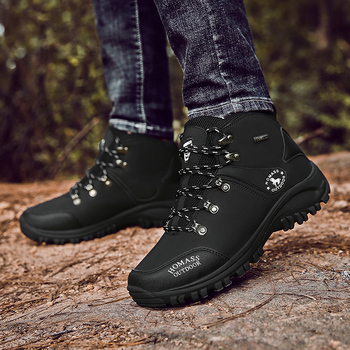 2020 Men Waterproof Hiking Shoes Military Tactical Boots DELTA Outdoor Breathable Climbing Shoes Non-slip Trekking Sneakers Male 2
