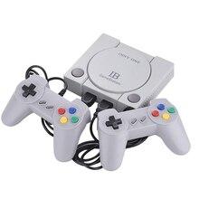 Mini 16bit e 8bit tv game console construído em 648 jogos av com controles de gamepad duplo retro família clássico handheld jogadores de jogo