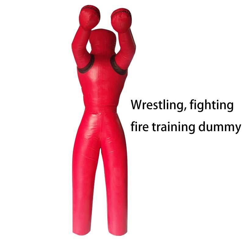 170cm High Weight 50-60kg MMA Wrestling Dummy Boxing Dummy Fire Training Dummy Boxing Punching Bag Training