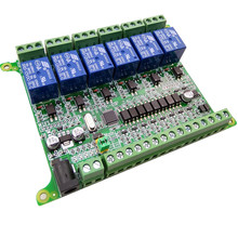6 channel relay module MODBUS-RTU RS485 board 12v for arduino(China)
