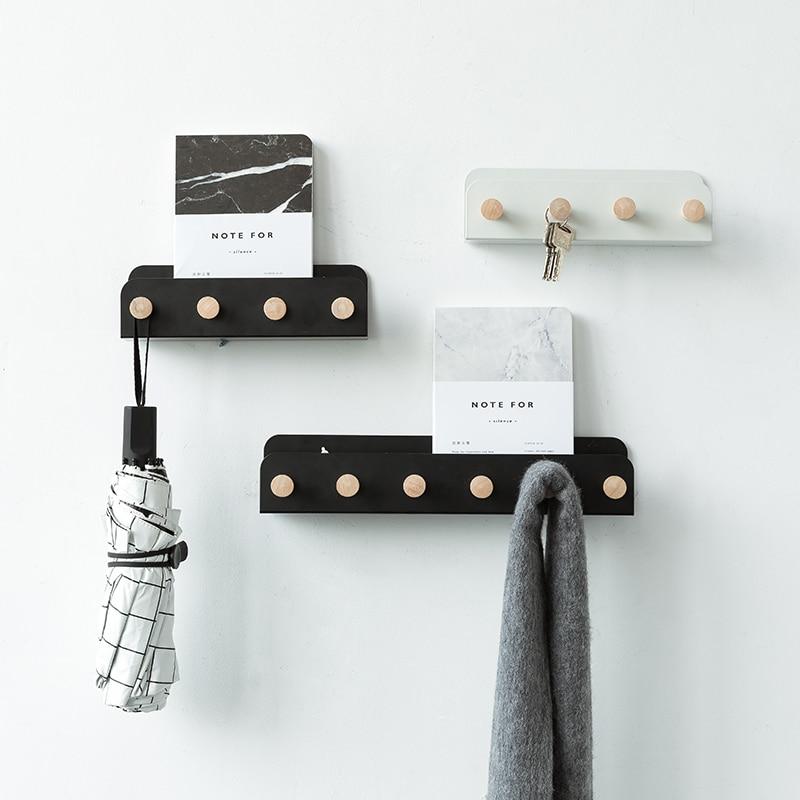 Hanger Hooks Coats Rack Wall