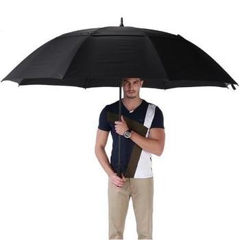 Men / Super long handle umbrella / windproof / waterproof / anti-slip handle / ergonomic design / durability / safety/tb181129