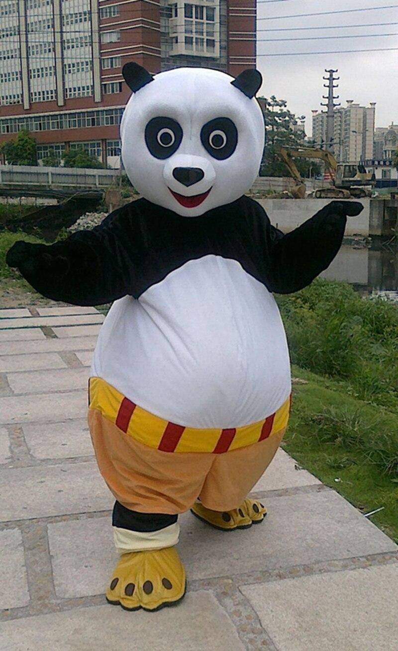 Costume de cosplay adulte taille Kungfu panda costume de mascotte Kung Fu Panda costume de mascotte Kungfu panda