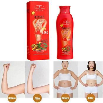 200ml Hot Chilli & Ginger Slimming Cream Fast Lose Burn Gel Slim Cream Fat Fat Cream Reduce Weight Cream Loss Weight Fat Bu H9H0 1