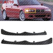 Car Front Under Headlight Molding Cover Trim Fit For BMW E46 330i 330Xi 325i 325Xi 2001 2002 2003 2004 2005 51137043409