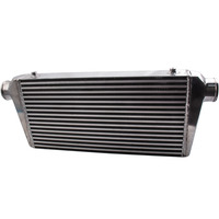 Intercooler 600x300x76mm   Bar and plate for FOR Ford BA BF FG XR6 4.0 4.0T -