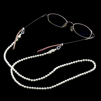2020 Chic Fashion Reading Glasses Chain for Women Metal Sunglasses Cords Casual Pearl Beaded Eyeglass chain for glasses women chic beaded hairband for women