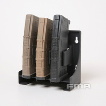 FMA MagStorage Solutions Mag Holder Safe 3 BK Magazine Pouch Rack for  Airsoft 30 Rounds AR-15 5.56 .223 Caliber