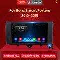 Автомагнитола Junsun V1, мультимедийный видеоплеер для автомобилей Mercedes Benz Smart Fortwo 10,0-2015 2 din dvd, Android 2010
