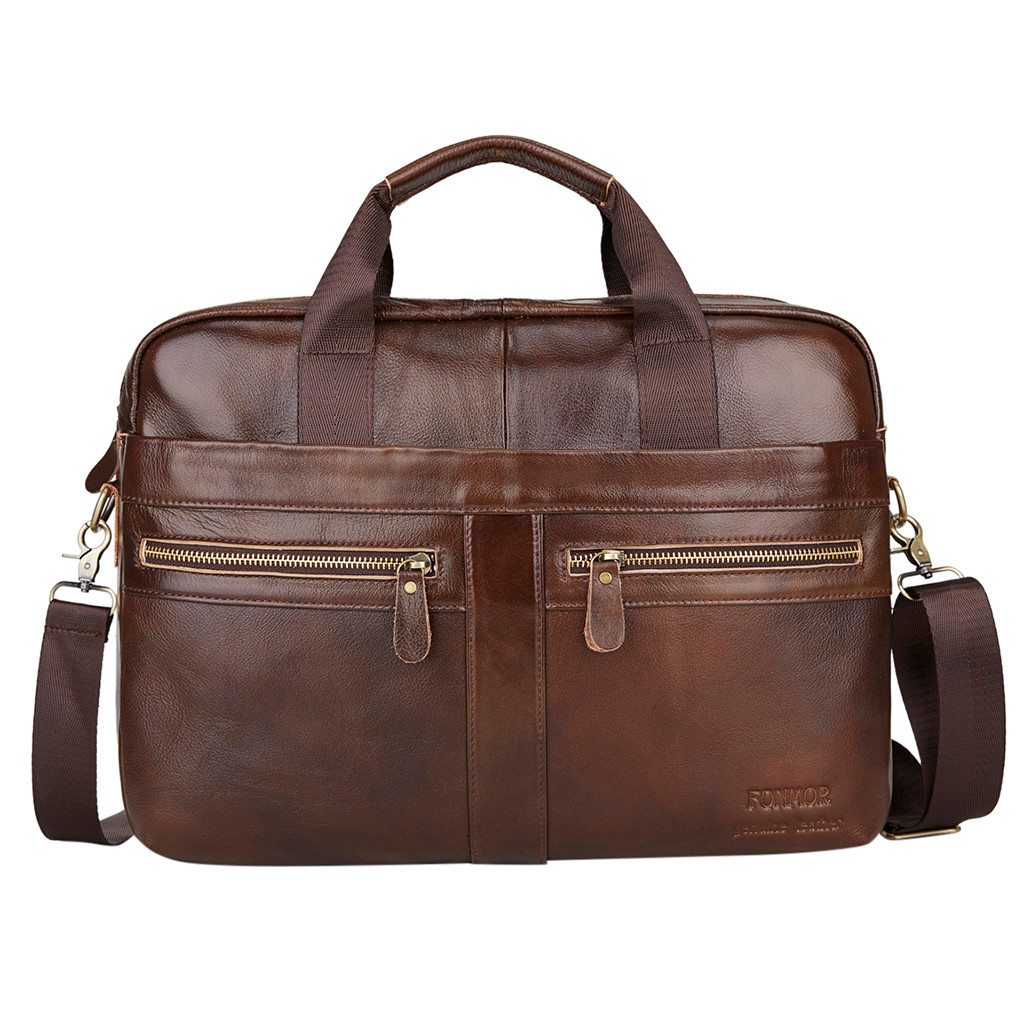 OCARDIAN Briefcase Genuine Leather Briefcases Computer Men Messenger Bags Handbag Crossbody Bags For Men Briefcase Shoulder Bag
