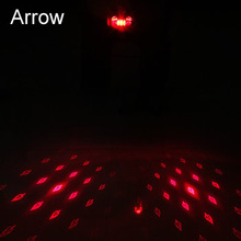 Waterproof Bicycle Tail Light USB Rechargeable Laser Bike Rear Light Night Cycling safety warning Back LED Lamp usb rechargeable bike led tail light bicycle safety cycling warning rear lamp bicycle back light 5 modes 2m16