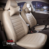 High quality leather car seat cover for mercedes w124 w245 A160 180 B200 c200 c300 E class GLA GLE S600 ML E220 all models