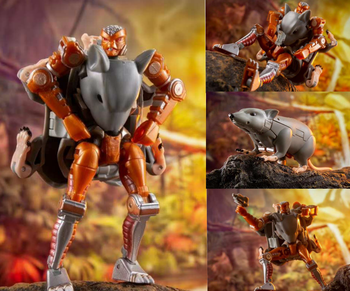 lensple transformation ko mp41 beast wars grimlock dinobot robots collection action figure TE Mouse Widow Transformation Element TE MM002 Super Warrior Beast War Alloy Aersion Anime Action Figure Robot Collection Model