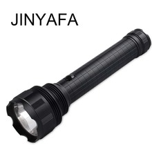High quality aluminum alloy explosion-proof flashlight outdoor camping adventure waterproof LED torch rechargeable