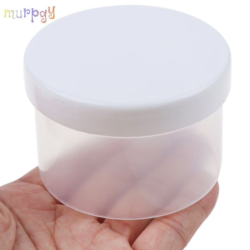 150ml Translucent Container Slime Box Slime Polymer Clay DIY Soft Charms Lizun Shelled Storage Craft Box Place Children's Toys