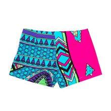 Легкие свободные крутые Летние Ретро Женские шорты с высокой талией и цветочным принтом, пляжные шорты для отдыха, гимнастики, плавания, тренировок