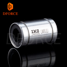 DFORCE genuine IKO LM8UU Long Rod Shaft 8X15X24MM  3d printer linear bearing For Reprap Anet A8 Prusa I3 Printer
