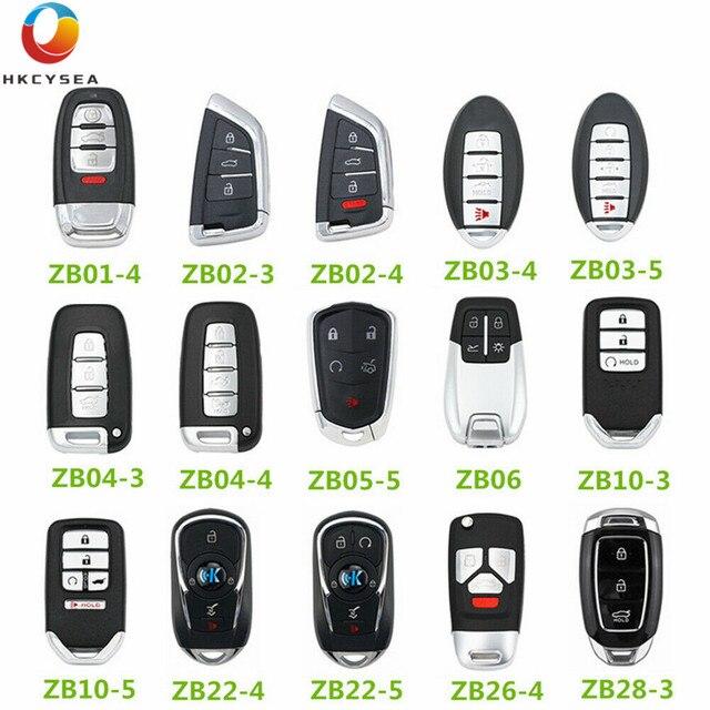 HKCYSEA Universal KEYDIY KD Smart Remote Key ZB01 ZB02 3 ZB02 4 ZB03 ZB04 ZB05 ZB06 ZB10 ZB22 ZB26 ZB28 ZB Series for KD X2