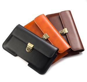 Для всех смартфонов, 6,3 дюйма, ниже, универсальный чехол из искусственной кожи с пряжкой, сумки для альпинизма, сумка на липучке для ремня, сп...