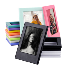 Photo-Frames Papers Magnets Fridge-Picture Mini-Film Double-Sided for Instax Children's
